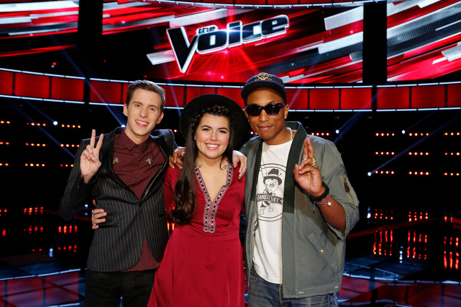 The Voice, Pharell Williams