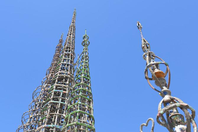 Pop Culture Bucket List: The Watts Towers
