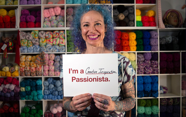 Passionista Annette Corsino-Blair — Owner, The Knitting Tree L.A.