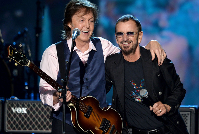 BUCKET LIST: Cheer and scream at a performance of the two living Beatles together