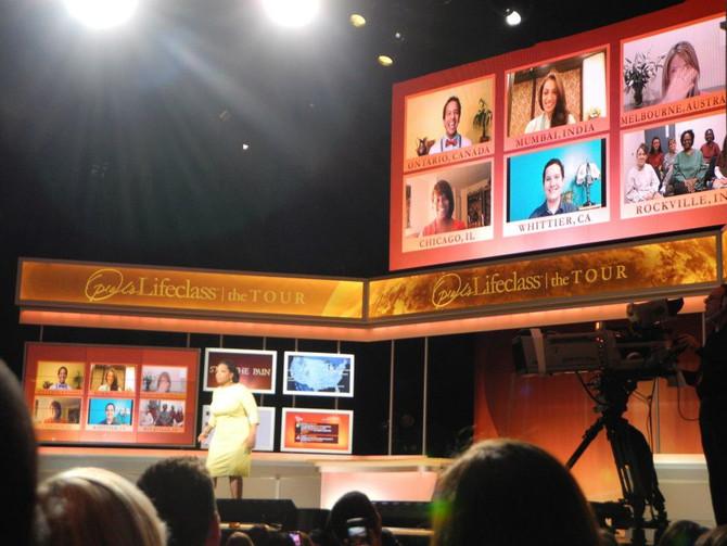 Pop Culture Bucket List:  Meet Oprah Winfrey