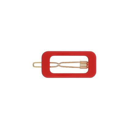 Molletta rettangolo rosso