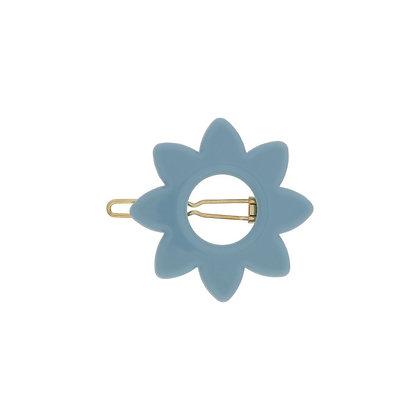 Molletta fiore azzurro