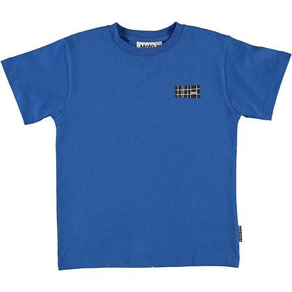 T-shirt blu cobalto Molo