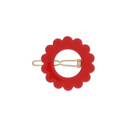 Molletta daisy rosso