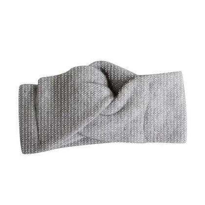 Fascia Collégien grigio chiaro glitter