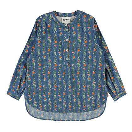 Camicia microflower