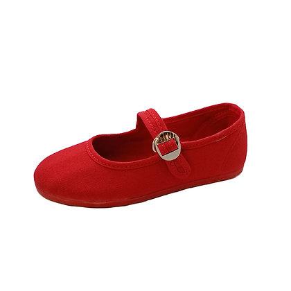 Ballerina rossa in cotone