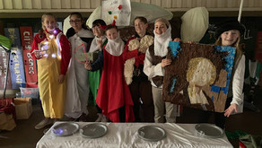 Sustainable Lafayette's Odyssey of the Mind Team Reduces, Reuses, and Recycles their way to Success