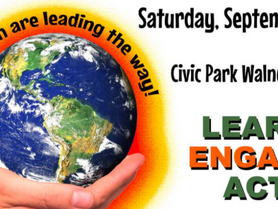 Volunteer at Community Climate Rally
