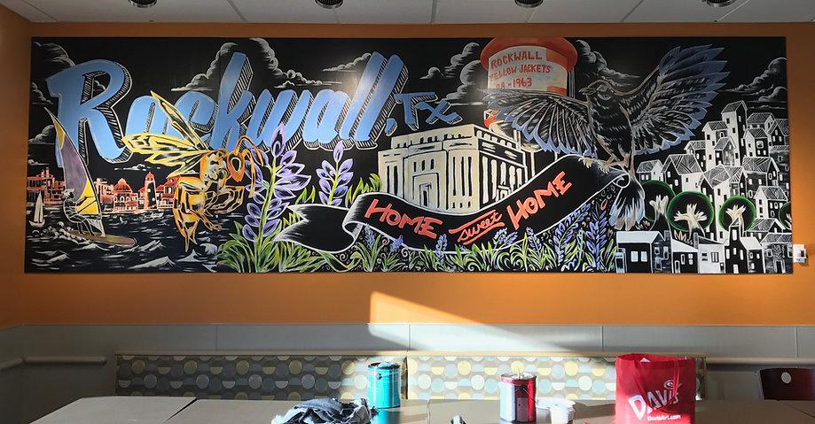 Kroger Mural Rockwall, TX