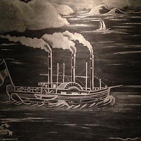 Chalk Drawin Zuber Illustration