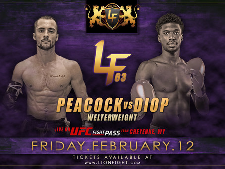 Lion Fight announces changes to lineup for LF63 on UFC FIGHT PASS®