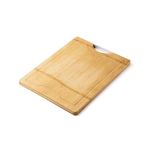 瑞典【GREEGREEN】天然竹木雙面防裂砧板 好拿型(15吋)