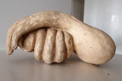 35.6 Falo mão 2 (15hx20x22 cm)