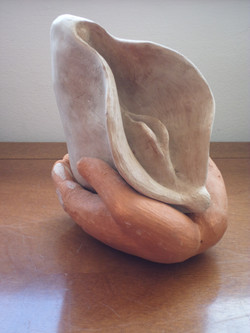 35.17 Vulva (16hx20x20 cm)