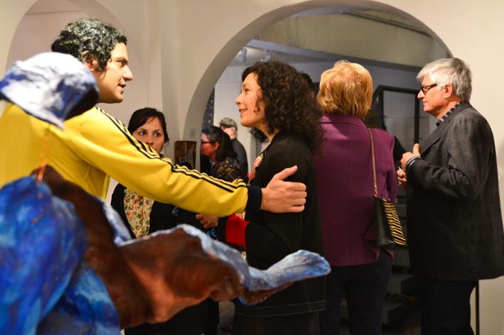 Carlito Blaschi, Audrey landell  Elaine Moura e Carlos Pinheiros na Galeria Verve