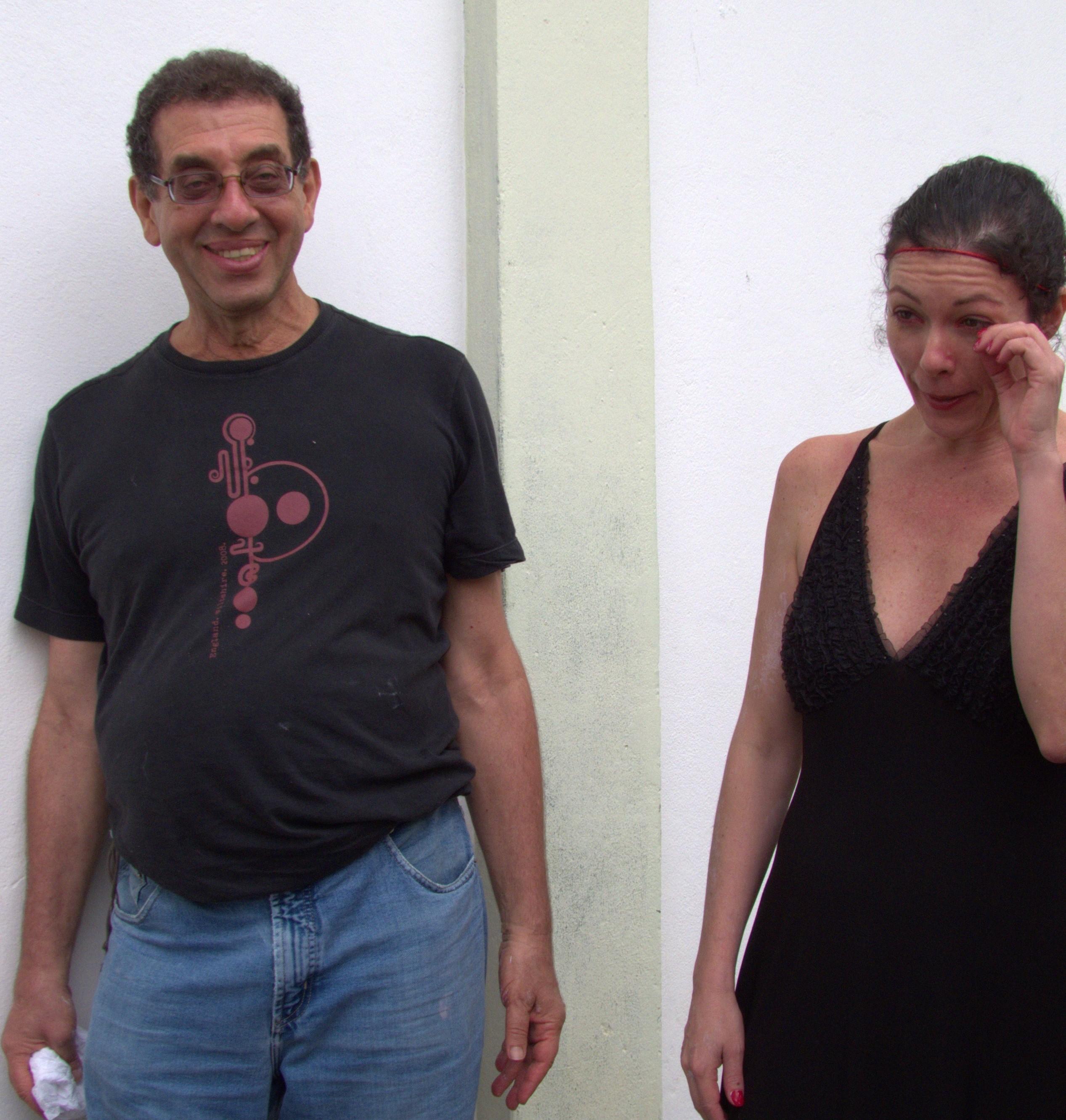 Artur Matuck e Audrey Landell