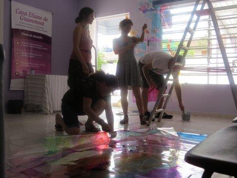 Luis Guilherme Kaufmann, Audrey Landell e Ana Carolina Cabral