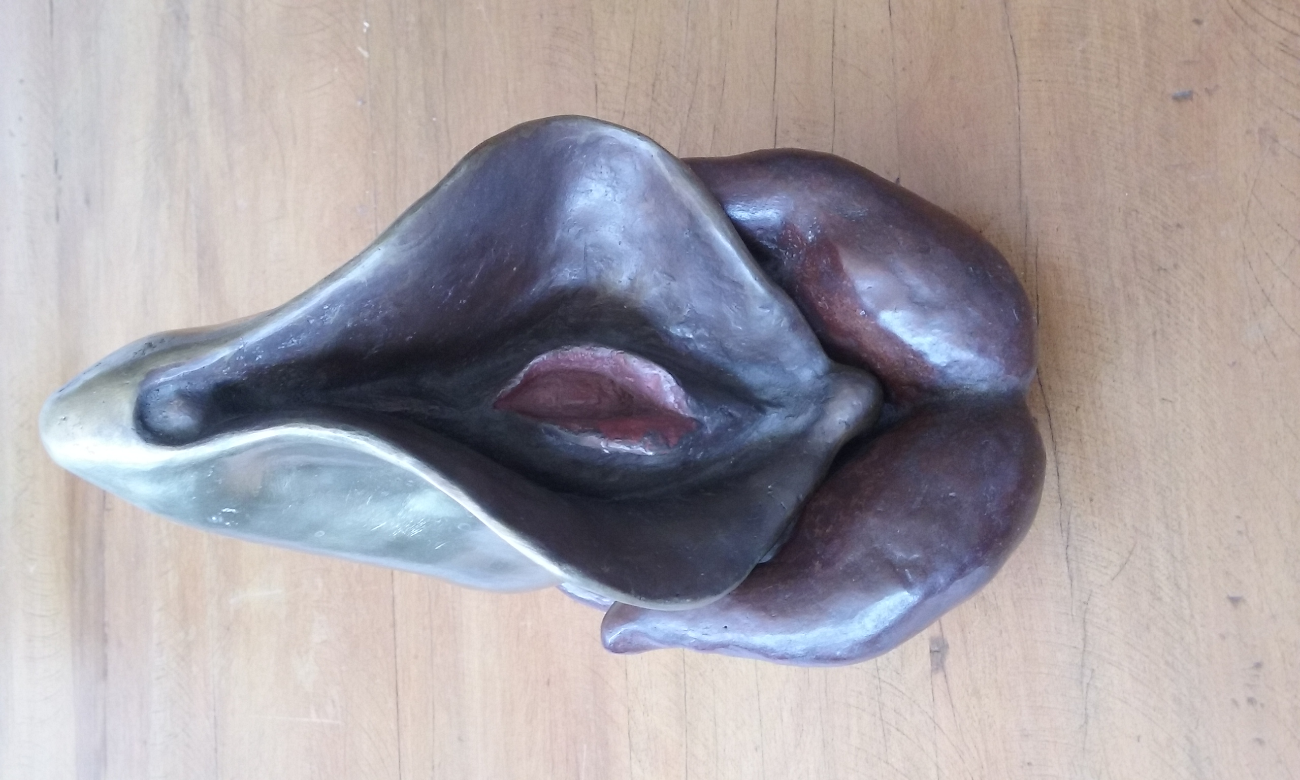 35.9 Vulva (16hx20x22 cm)