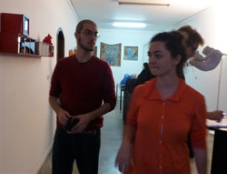 Ariel Reuben e Angelica Arechavala