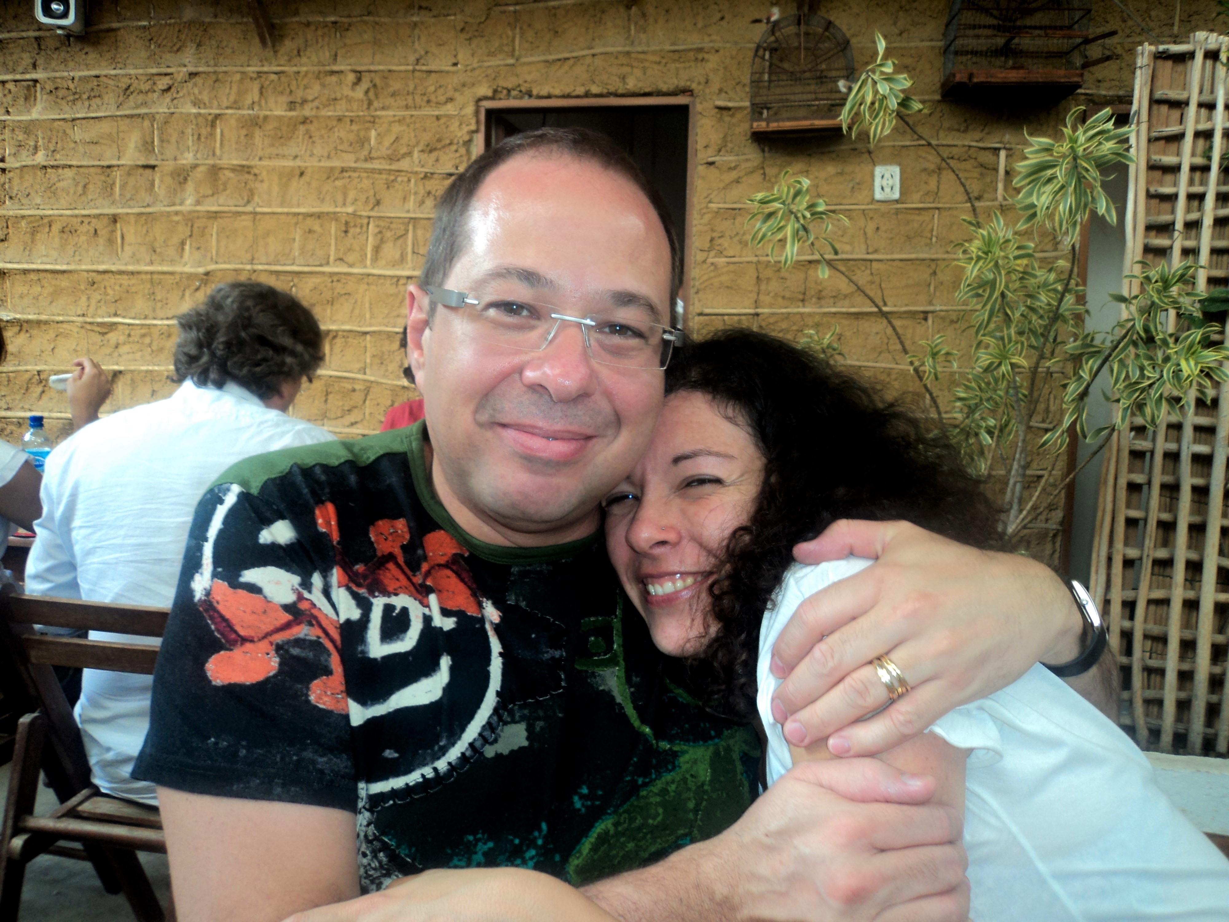 Audrey Landell e Julho Alves