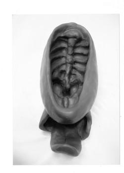 35.10 Vulva - bronze (16x20x22 cm)