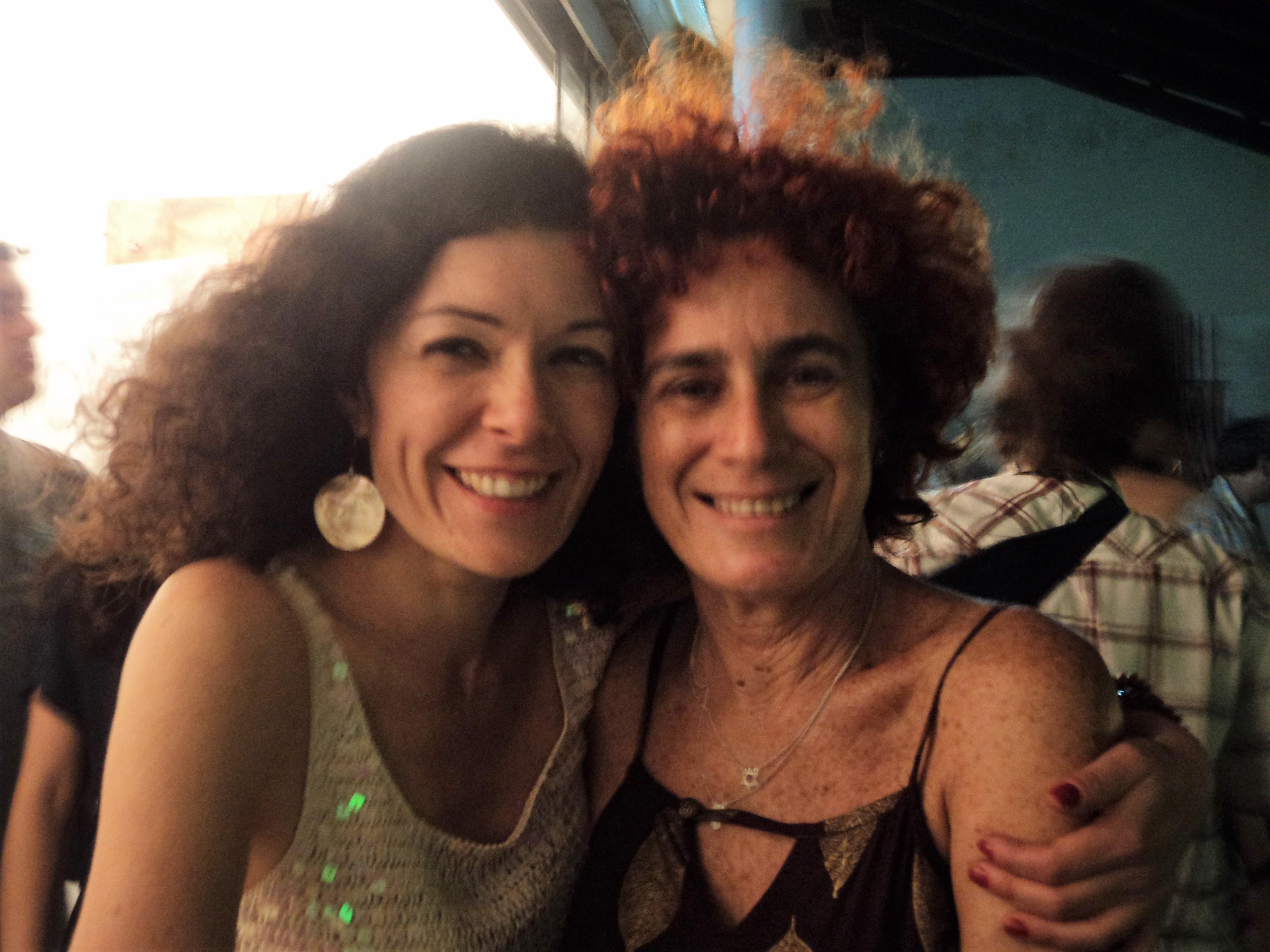 Janete Kislansky e Audrey Landell