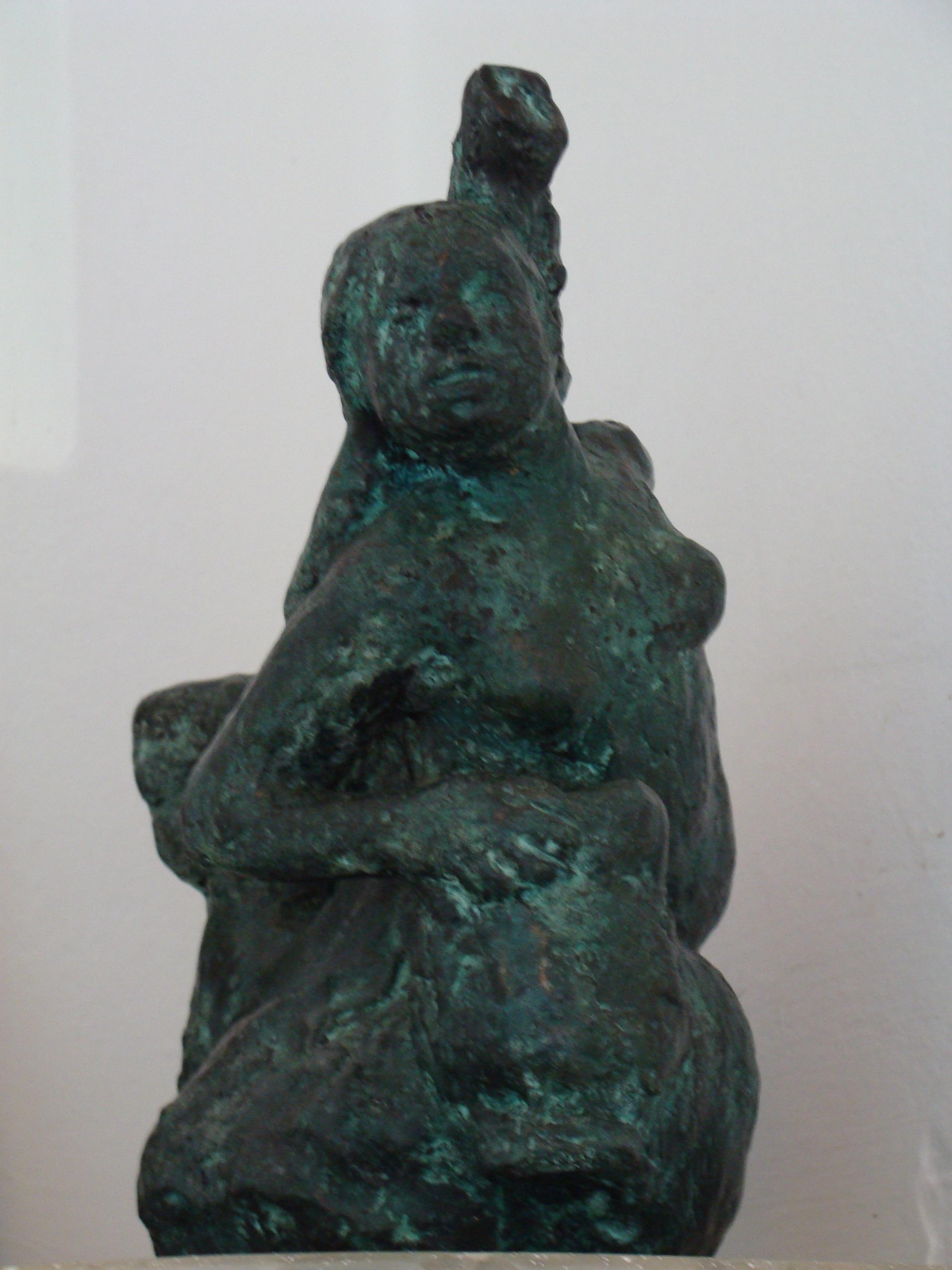 34.3 Vôo - bronze (15hx23x20 cm)