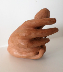 35.5 Falo mão 1 (15hx18x15 cm)