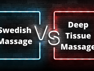 Swedish vs. Deep Tissue Massage- The Top Five Differences