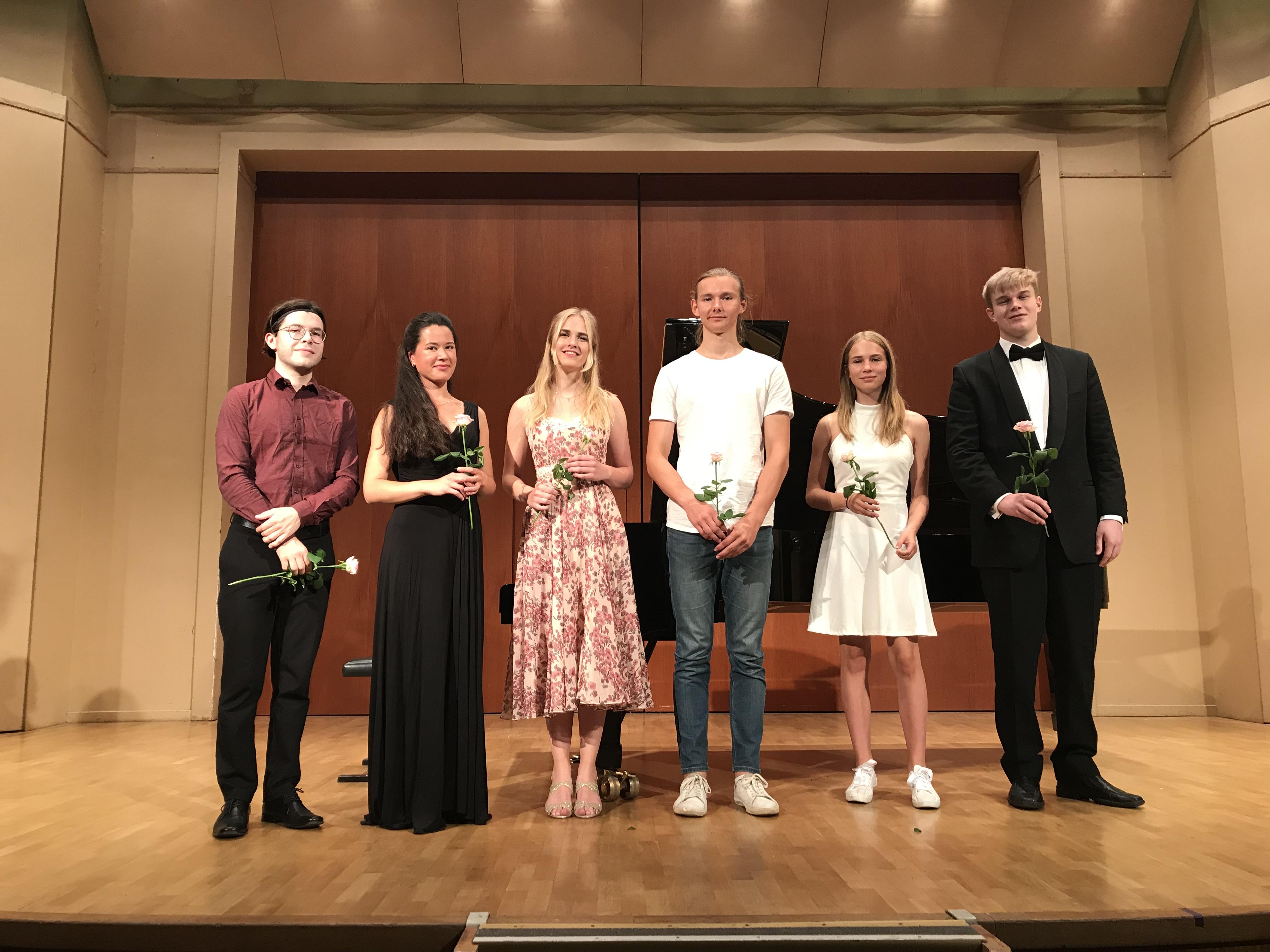 Unga och Lovande konsert