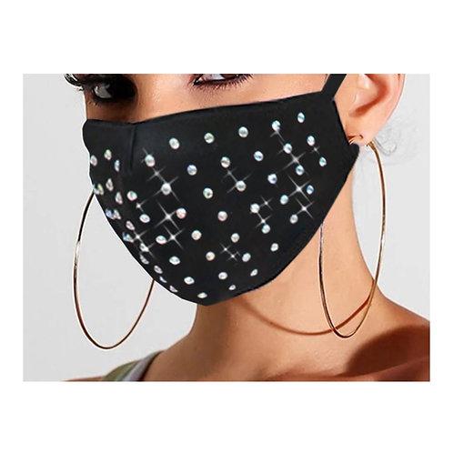 Mask -Studded Bling Bling