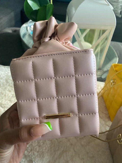 Fashion Haven Quilted Drawstring Bucket Bag
