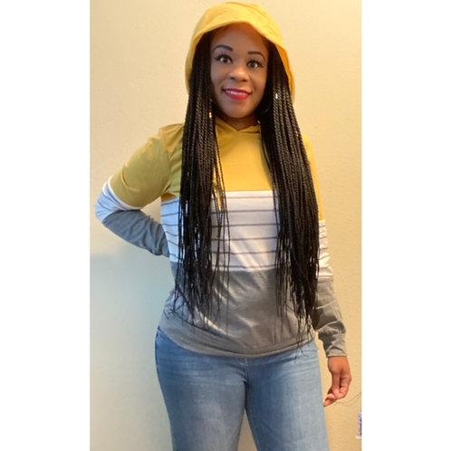 Hoodie Colorblock Sweatshirt