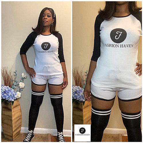 Fashion Haven Baseball Shirt