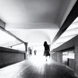Girl at Barbican