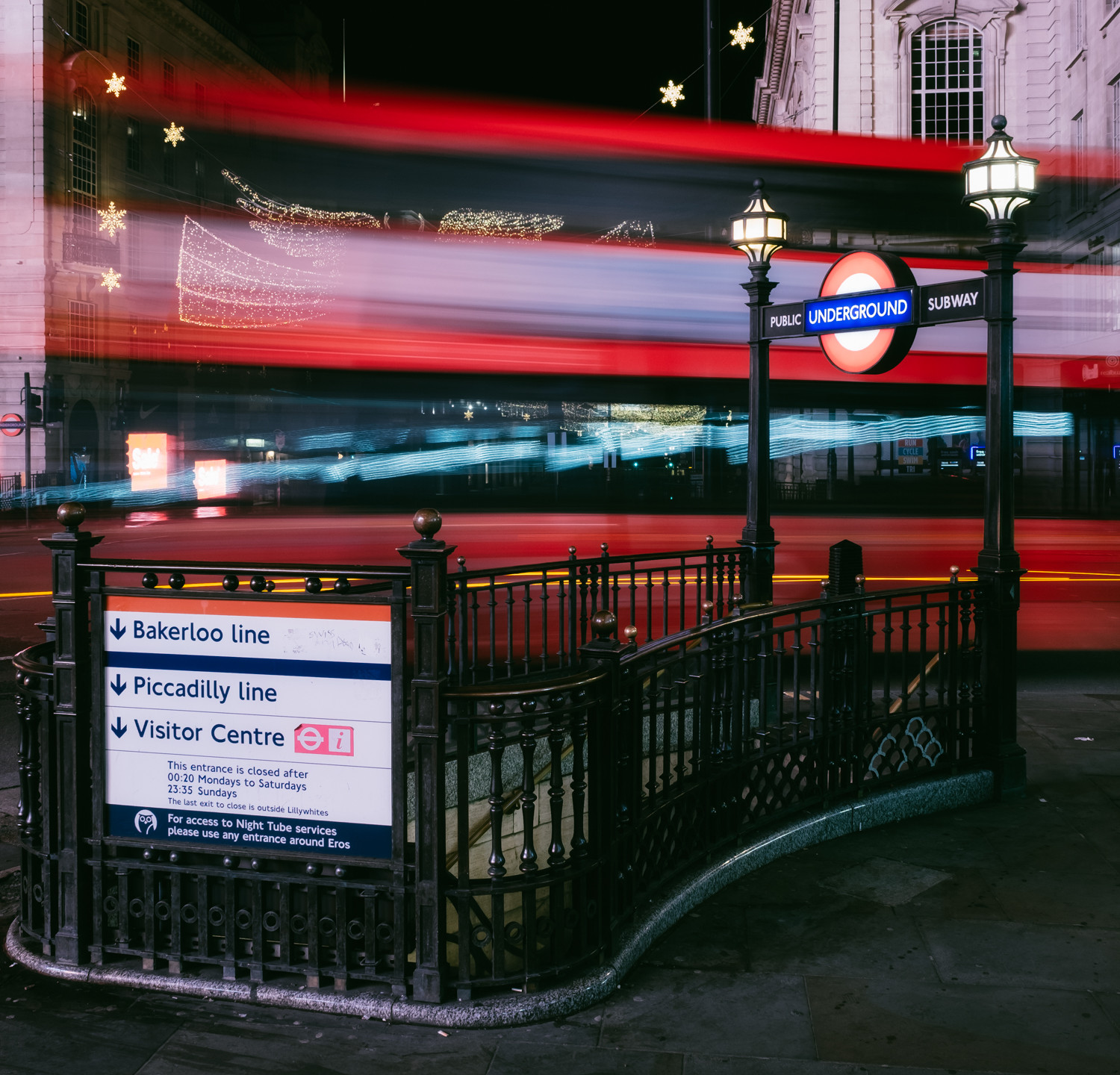 6am, Piccadilly Circus