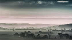 Mist over Dunstable Downs