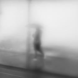 Behind the rain