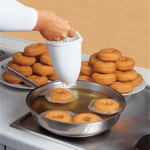 Plastic Light Weight Donut Maker Dispenser Deep Fry Donut Mould Easy Fast