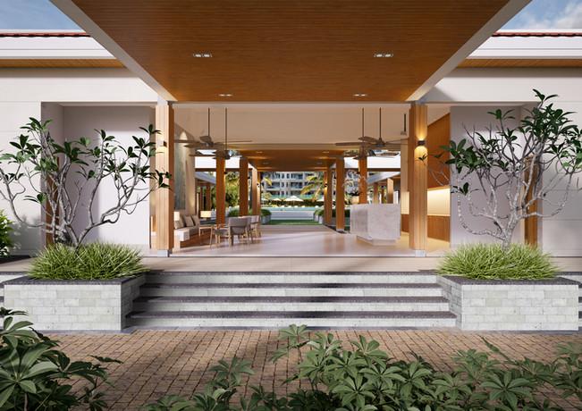 Ocean Villas Reception