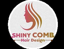 Shiny comb hair design