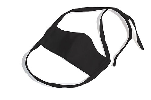 Black Cloth Face Mask