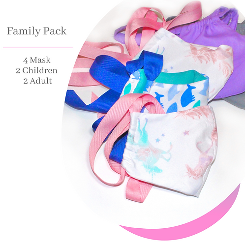 Face Mask Family Pack