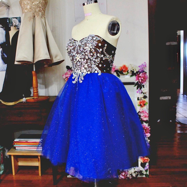 Top; Custom Tulle  party dress for prom and sweet sixteen. Learn more about custom design here