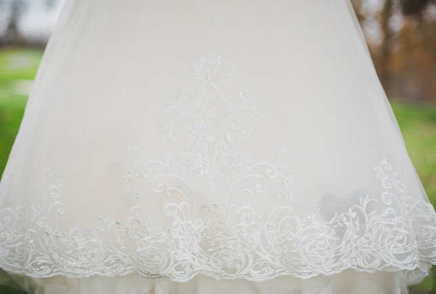 Happy bride on her big day with, multi alterations. Click here to see some more of my work!