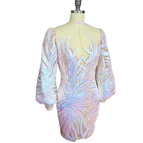 GISELLE Sequin Party Dress