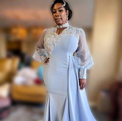 Custom Mother of Bride Gown
