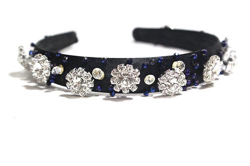 Black Headband, Satin Headband, Ladies Headband, Accessories